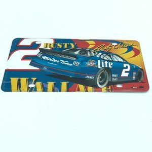 Rusty Wallace Nascar Decorate License Plate